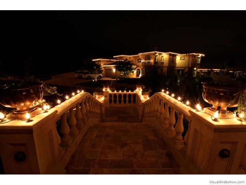christmas light installation by christmas lighting by drakes near chino hills ca - Chino Christmas Lights